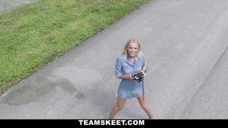 Exxxtra Small - Alone With A Drone - Brice Bardot - HD