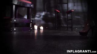 Inflagranti - Redhead MILF masturbates with a dildo - Jana Bach - HD