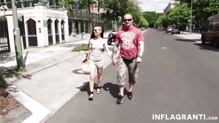 Inflagranti - Raver chicks fucked in public - Aileen - HD