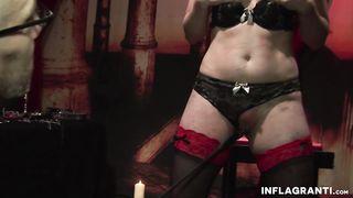 Inflagranti - Blonde housewife enjoys being punished - Uma Masome - HD