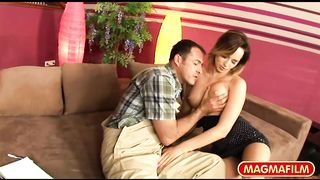 Magma Films HD - Busty MILF gets naughty with dick - Caty Cambell - HD