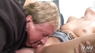 MMV Films - Sexy blonde in amazing hardcore oral action - HD