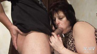 MMV Films - Hot BBW GILF slammed hard by her neighbor - HD