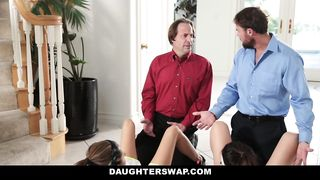 Daughter Swap - The Stretch And Swap Pt.2 - Audrey Royal and Kara Faux - [720p] HD