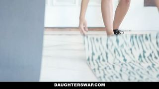 Daughter Swap - The Stretch And Swap - Audrey Royal and Kara Faux - [720p] HD