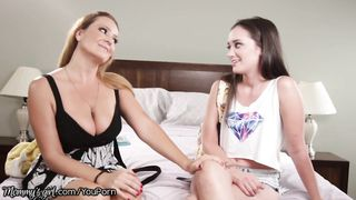 Mommys Girl - Block Parent becomes Teens New Mommy - Elexis Monroe and Gia Paige - [720p] HD