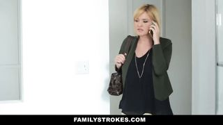 Family Strokes - Sneaking Around and Fucking Step-DAD HD [720p]