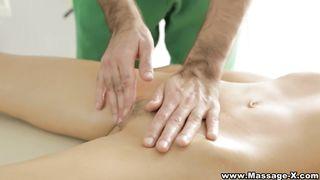 Massage X - Passionate massage table fuck - HD [720p]