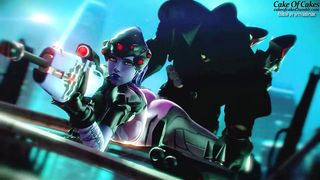 SFM Overwatch Widowmaker fuck short video