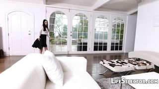Life Selector - Free POV XXX with sexy pornstar Angela White with shaved pussy - HD [720p]