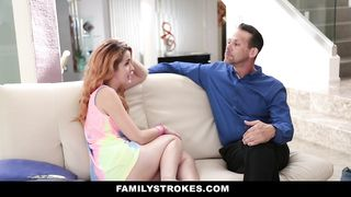 Family Strokes - Hot Spanish Teen Fucked By Creepy Uncle - HD [720p]