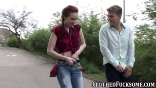 Clothed Sex Outdoor And At Home