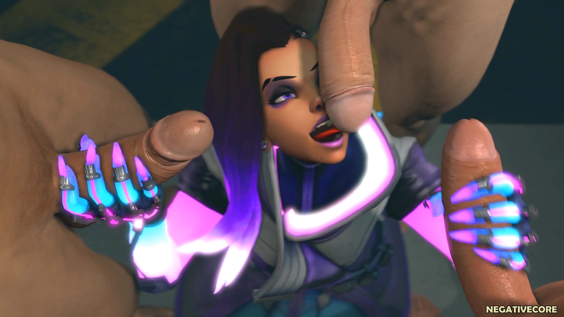 overwatch pharah sucked 3 big cock 3d sfm3d porn - fpo.xxx