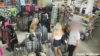 SHOPLYFTER - Taylor spread her legs and lets him pound
