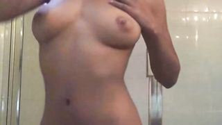 Sexy Ebony Teen Girl Nude In Shower