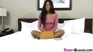 Teeny Black - Young ebony amateur have a perfect pussy - HD