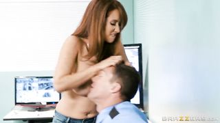Big Tits At Work - Isis Teaches A Mall Cop A Lesson - Isis Love and Ramon 2017