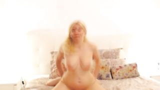 Horny Blonde Babe Fuck Hard in Pussy and Ass