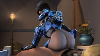 Overwatch Porn SFM - Tracer Reverse Cowgirl