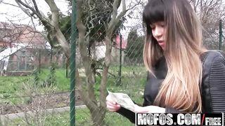 MOFOS.COM - Russian MILF gets outdoor Creampie - Mona Kim - HD [720p]