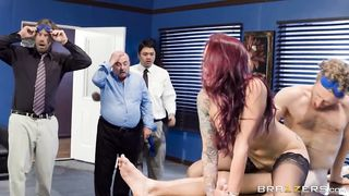 Brazzers - Boss MILF improves the work environment - Monique Alexander