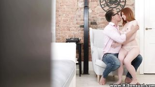 X Sensual - Love juice on her lips - Lili Fox