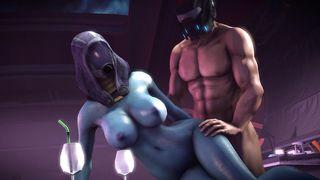 SFM Mass Effect Helmet Fuck