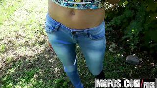 Mofos - Slim Hungarian Girl Takes Fat Dick - Linda Leclair