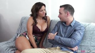 Pure XXX FILMS - Thick Milf enjoys her sons bestie - Sienna Hudson