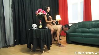 FUN MOVIES Young German Lesbians and slaves femdom - Sarah Dark