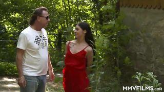 MMV Films German Teen lost in the woods - Lullu