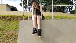 Masturbation at public skatepark