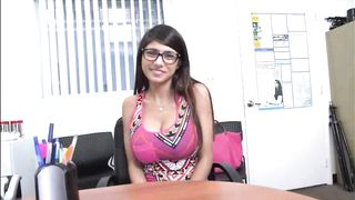 Mia khalifa sucks and fucks some dick good