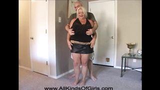 Anal Huge Tit Mature Blonde BBW