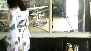 Valentina has a DP Gangbang at the Airport