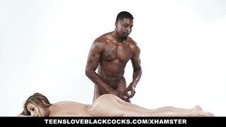 TLBC - Spanish Teen Fucked By Big Black Bock
