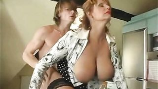 Busty Maid Suck Boss And Fuch Boss Son