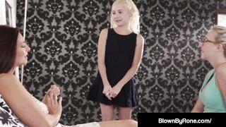 Samantha Rone & Odette Delacroix Get Mothered By Mindi Mink!