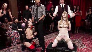 Slave initiation orgy