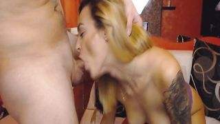 Horny Petite Babe Fucks Hard in Pussy and Ass