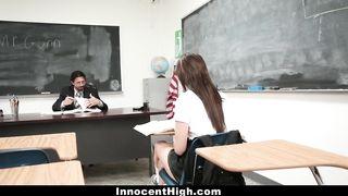 InnocentHigh - Schoolgirl Fucked By Huge Cock