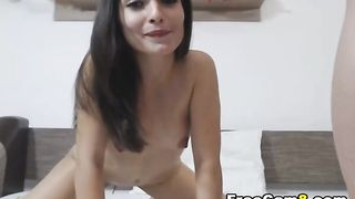 Petite Babe Deep and Hard Fuck in POV