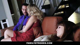 FamilyStrokes - Hot Teen Loves To Fuck Her Stepdad