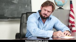 InnocentHigh - Sexy Teen Student Fucked By Teacher