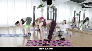 BFFS - Cute Teens Fuck Creepy Yoga Student