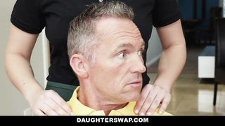 DaughterSwap - Hot Barista Teens Fucked For Extra Cash