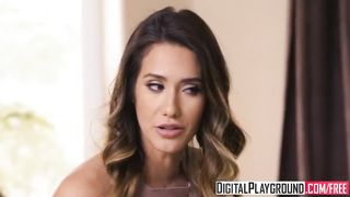 DigitalPlayground - My Wifes Hot Sister Episode 5 Reagan Foxx and Michael Vegas and Xander Corvus