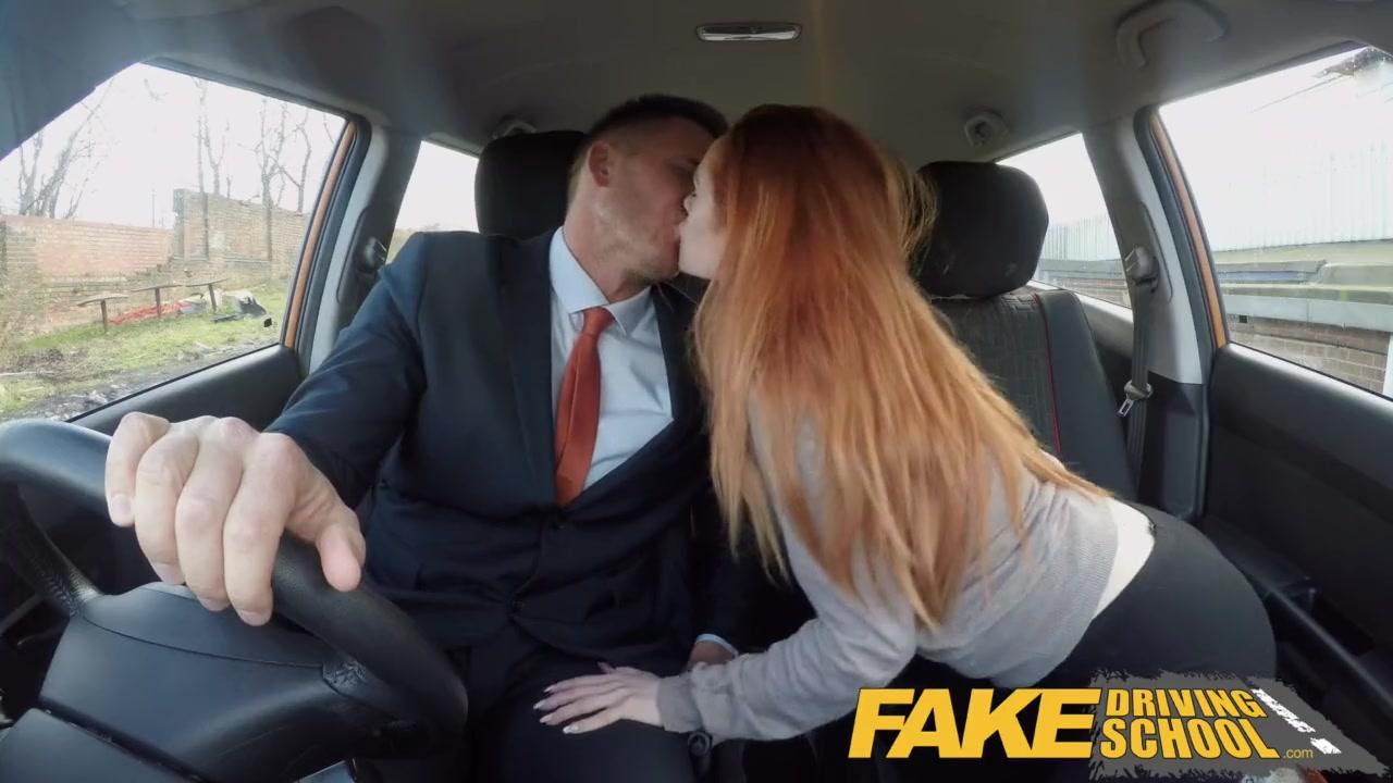 Teen Blowjob Driving Car