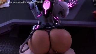 Overwatch Sombra Anal