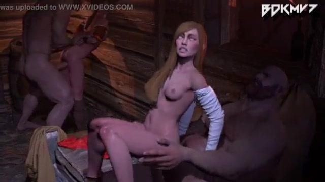 3d порно ведьмак